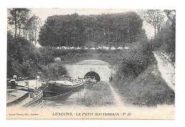 CPA 02 - LESDINS - LE PETIT SOUTERRAIN (PENICHES) - Altri Comuni