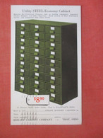 Utility Steel Economy Cabinet Hobart Cabinet Co. Troy Ohio    Ref 4888 - Reclame