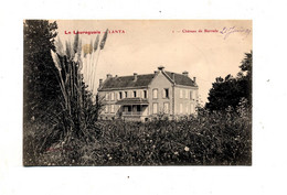Carte Lanta Chateau Barrade - Altri Comuni