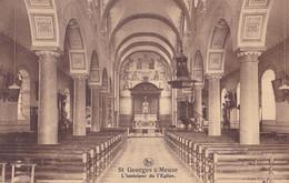 St-Georges S/Meuse L'Intérieur De L'Eglise - Saint-Georges-sur-Meuse