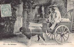 45  - Loiret - EN SOLOGNE  - Le Boulanger  - ATTELAGE DE CHIEN  - Région Sully Sur Loire (A-210 ) Voir Scan Recto Verso - Unclassified