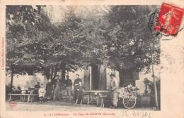 33 - GIRONDE - LIGNAN  -  - ATTELAGE DE CHIENS - Métiers - Le CHIFFONNIER (A-212 ) Voir Scan Recto Verso - Otros Municipios