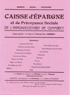 CAISSE D'EPARGNE ET DE PREVOYANCE SOCIALE COMMERCY - Banca & Assicurazione