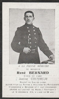 ABL, René  Bernard, 5e De Ligne , Blessé Pour La Patrie à Houthem Ste Marguerite - Obituary Notices
