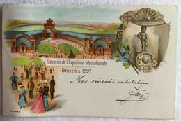 Souvenir De L'exposition Internationale -Bruxelles -1897-754 - Exposiciones Universales