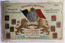 Souvenir 75e Anniversaire Indépendance Nationale -royaume De Belgique- 1830 1905-755 - Otros