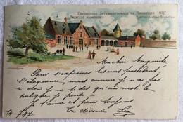 Exposition Internationale De Bruxelles 1897 Quartier Du Vieux Bruxelles-756 - Otros