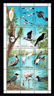 Dominica 1995 Waterbirds - Water Birds Sheetlet MNH - Unclassified