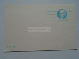 D178819   USA -Postal Stationery Ca 1981   12c  Isaiah  Thomas  -Patriot - 1941-60
