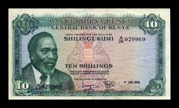 Kenia Kenya 10 Shillings 1969 Pick 7a EBC XF - Kenya