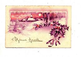 Carte Bonne Annee Cachet Sierentz Sur Paix - Neujahr