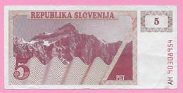 5 Tolarja - 1990 - Slovenia