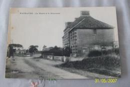 CPA NOIRMOUTIER BARBATRE La Mairie Et Le Monument - Ile De Noirmoutier