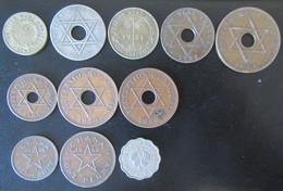 British West Africa / Nigeria / Ghana - 11 Monnaies (Penny Et Autres) Entre 1940 Et 1967 - Kolonies