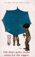 Ce Chien Doit Me Céder La Place. - Dat Dog's Gotta Make Room For Dis Nigger. (1932). - Other Illustrators