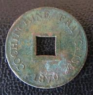 Cochinchine Française - Monnaie 2 Sapèques 1879 A - Colonies