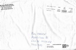 France 2021 Paris Louvre Post Office Meter AFFRANCHIGO 1.2 Kg Book Post EMA Cover - EMA (Print Machine)