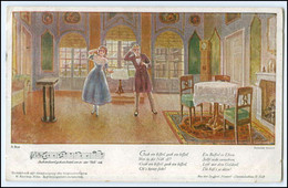 "N8658/ Franz Schubert ""Hannerl"" Dreimäderlhaus AK 1922 - Zonder Classificatie"