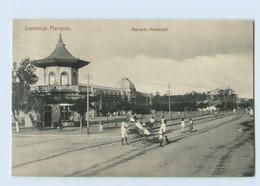 G965/ Mosambik AK Lourenco Marques  Mercado Municipal   Ca.1912 - Welt