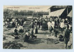 G962/ Mosambik AK Lourenco Marques  Interior Do Mercado  Ca.1912 - Welt