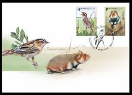 Belarus 2021 - EUROPA Endangered Wildlife. Fauna Bird Vogel Uccello Oiseau Hamster Weißrussland/Wit-Rusland/Bielorussia - Belarus