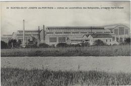 44  Nantes Saint Joseph De Portricq   -  Les Usines De Locomotives Des Batignolles ,  Prises Nord Ouest - Nantes
