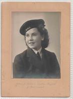 WW2 ROYAL NAVY WREN - ORIGINAL PHOTOGRAPH - Guerre 1939-45