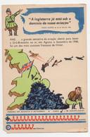 World War II Hitler Aviation Vintage Postcard - Oorlog 1939-45