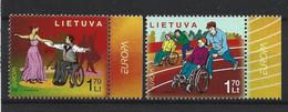 Lietuva 2006 Europa Integration Y.T. 787/788 ** - Lituania
