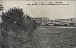 44  Nantes Saint Joseph De Portricq   -  Vue Sur Les Usines De Locomtives Des Batignoles Au  Nord Ouest - Nantes