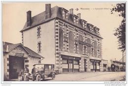 19 MEYMAC SPLENDID HOTEL AVEC UNE VOITURE GARAGE  CPA BON ÉTAT - Sin Clasificación