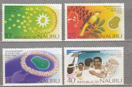 NAURU 1976 Return From Truk Birds MNH(**) Mi 131-134 #27431 - Nauru