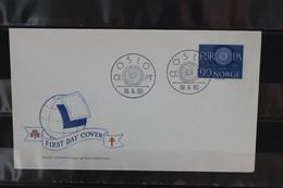 Norwegen, Europa - CEPT 1960, FDC MiNr. 449 - 1960