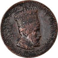Monnaie, Éthiopie, Haile Selassie I, Matona, 1931, Paris, TTB+, Cuivre, KM:27 - Ethiopia