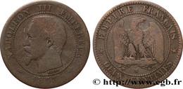 2 Centimes Napoléon III Tête Nue 1853 W Lille - B. 2 Centimes