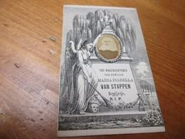 Dp 1824 - 1874, Nieukerken/ Groot Begijnhof Gent, Van Stappen, Begijntje - Devotieprenten