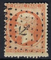 FRANCE CLASSIQUE:  Le Y&T 23, Obl. Ancre Dans Losange De Points - 1862 Napoléon III.