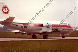 PHOTO RETIRAGE REPRINT AVION    VFW 614  OY-ASA   Cimber Air    C08 - Aviation