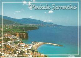 Penisola Sorrentina (Napoli) Veduta Aerea, Aerial View, Vue Aerienne, Luftansicht - Napoli (Naples)