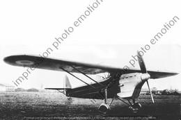 PHOTO RETIRAGE REPRINT AVION    AFN LES MUREAUX 115 - Aviation