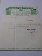 T278 - Facture De La Fromagerie Paul Renard à La Chapelle Vieille Foret - Yonne - Invoices