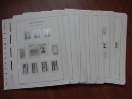 DDR LEUCHTTURM 1984 - 1990 Vordruckblätter Mit Taschen - Gebraucht Used - Pre-printed Pages