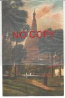 Birmania, 18.7.1906, Pagoda Di Tiangoo. - Myanmar (Burma)