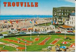 14-TROUVILLE - Le Mini-golf Et La Plage - Trouville
