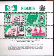 NIGERIA / Neufs**/MNH**/ 1985 - 25 Ans Indépendance - Nigeria (1961-...)