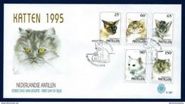 Antillas Holandesas Nº 1017/21 (Sobre Primer Día) - Antilles