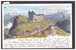 RIGI KULM - LITHO STEINMANN - TB - SZ Schwyz