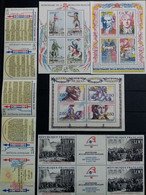 FRANCE.1988 - 91. Blocs Bicentenaire N°10.12.13 + Triptyque 2539A Et 2605A .  NEUFS++ . Côte YT 2020 : 27,50 € - Blocs Souvenir