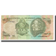 Billet, Uruguay, 100 Nuevos Pesos, KM:62a, TTB - Uruguay