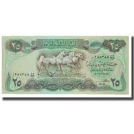 Billet, Iraq, 25 Dinars, KM:72, NEUF - Iraq
